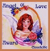 angel of love award