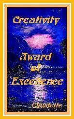 Creativity Award